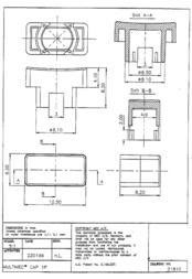 Mec Multimec button cap Black without window Black 1D09 Data Sheet