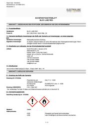 Electrolube Threadlocker Colour Red EBLR15ML 15 ml EBLR15ML Data Sheet