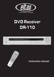 Eltax DVD Receiver DR-110 User Manual