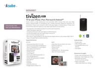 Tivizen  DVB-T 0442 Data Sheet
