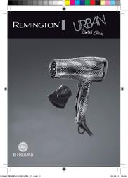 Remington D1001URB User Manual