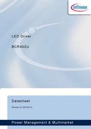 Infineon Technologies BCR402U Linear IC SC74 LED driver BCR402U Data Sheet