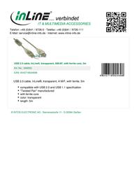 InLine 34605Q Leaflet