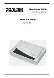 PROLINK Modem 9000 User Manual