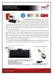 Genius LuxeMate 635 Laser 31340129102 User Manual