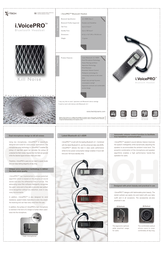 Itech i.voicepro bluetooth headset User Manual
