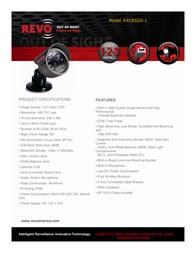 Revo RCBS20-1 Leaflet