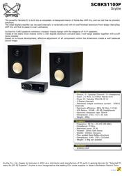 Scythe Kro Craft Speaker Plus SCBKS-1100P Leaflet