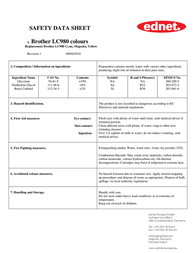 Ednet 20009 Data Sheet