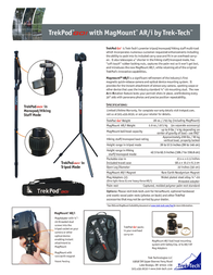 Trek-Tech TREKPOD GO! Pro TREKPODGO Leaflet