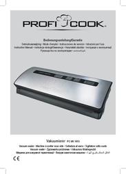 ProfiCook PC-VK 1015 501015 Data Sheet