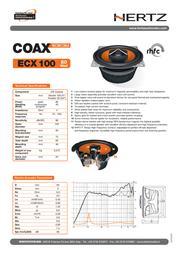 Hertz ECX 100 ECX 100.4 Leaflet