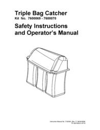 Snapper 7600069 - 7600070 User Manual