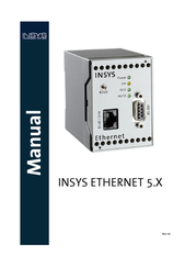 Insys Ethernet 5.0 11-02-01-05-00.010 User Manual