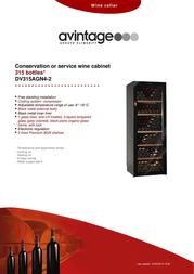 Avintage DV315AGN4-2 Leaflet