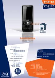 AT Telecom AT-B10D 931217 Leaflet