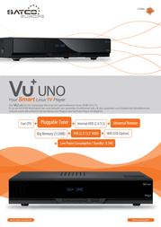Vu+ Uno 10004784 Leaflet