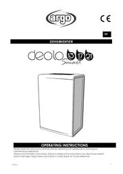 ARGO DEOLO 17 DEOLO-17 User Manual