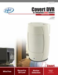 Svat Covert MPEG4 DVR PI1000 Leaflet