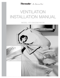Thermador VCI 230/236/248 DS User Manual