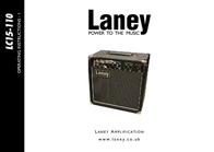 Laney lc15-110 User Guide