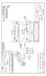 Keystone Pin battery holder for 18650 cells 18650 cell (L x W x H) 77 x 20.65 x 14.8 1043 Data Sheet