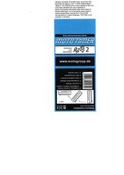 Motogroup Moto Timer Rattle 2 Operating hours timer MT-002a Data Sheet