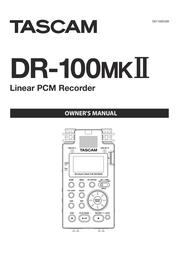 Tascam DR-1 User Manual