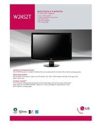 Goldstar W2452T Brochure