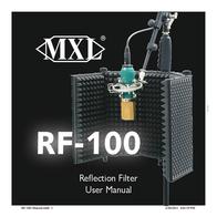 Marshall RF-100 MXL RF-100 User Manual