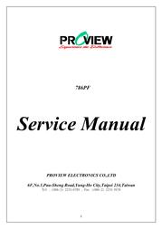 Proview 786PF User Manual