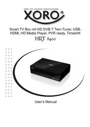 Xoro HRT 8400 SAT100280 Data Sheet