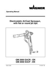 Wagner SprayTech GM 2000 EACF User Manual