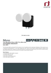 Inverto IDLB-TWNM21-MNOO6-8PP 3524 Data Sheet