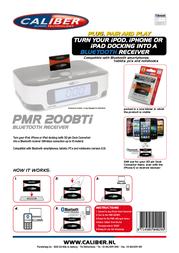 Caliber PMR200BTI Leaflet