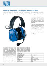 Ecom Instruments EX-TRA BT Leaflet