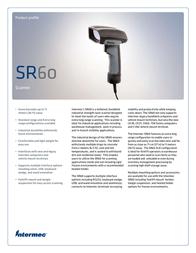 Intermec SR60 SR60BX01 Leaflet