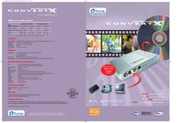 Plextor DIGITAL VIDEO CONVERTER PX-M402U/T3 Leaflet