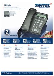 SWITEL TC 29 Clip TC29 CLIP Leaflet