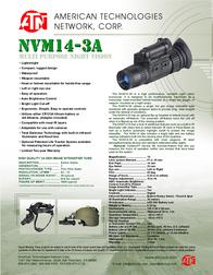 ATN NVM14-3A Leaflet