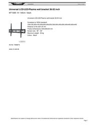 Acme United 7009074 A2132166 Leaflet