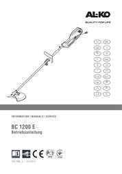 AL-KO BC 1200 E User Manual