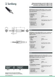Lumberg LUM-KLS22 KLS 22 Data Sheet