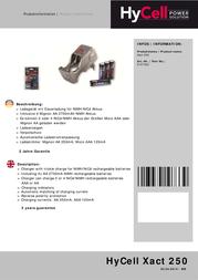 Hycell 5107333 Xact250 5107333 Data Sheet