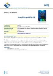 C3PO Izenpe LTC31 USB 63LT31UB1N01 Product Datasheet