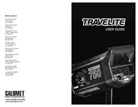 Calumet TRAVELITE 750 User Manual