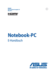 Fonic ASUS F751MA-TY237H NOTEBOOK 17.3 90NB0612-M03490 Data Sheet