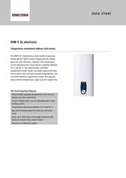 STIEBEL ELTRON DHB-E SL 232008 Data Sheet