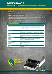 Metapace K-1 MPK1S Data Sheet