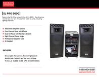 Britelite DJPRO9000 Техническое Руководство